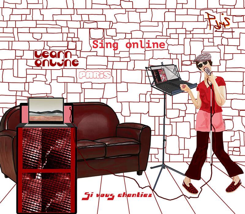 Cours de chant en ligne : Si vous chantiez