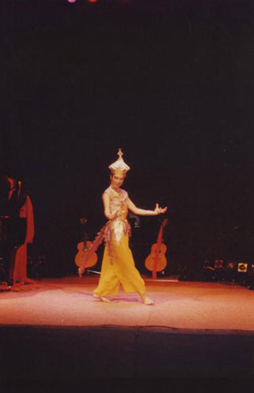 Scène de Lydie Diaz, professeur de chant à Paris
